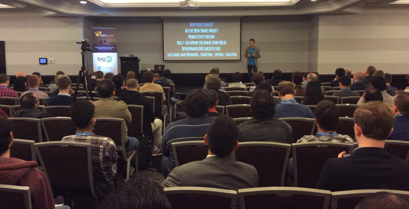 PAPIs 2015: Where Makers of Predictive APIs and Apps Meet