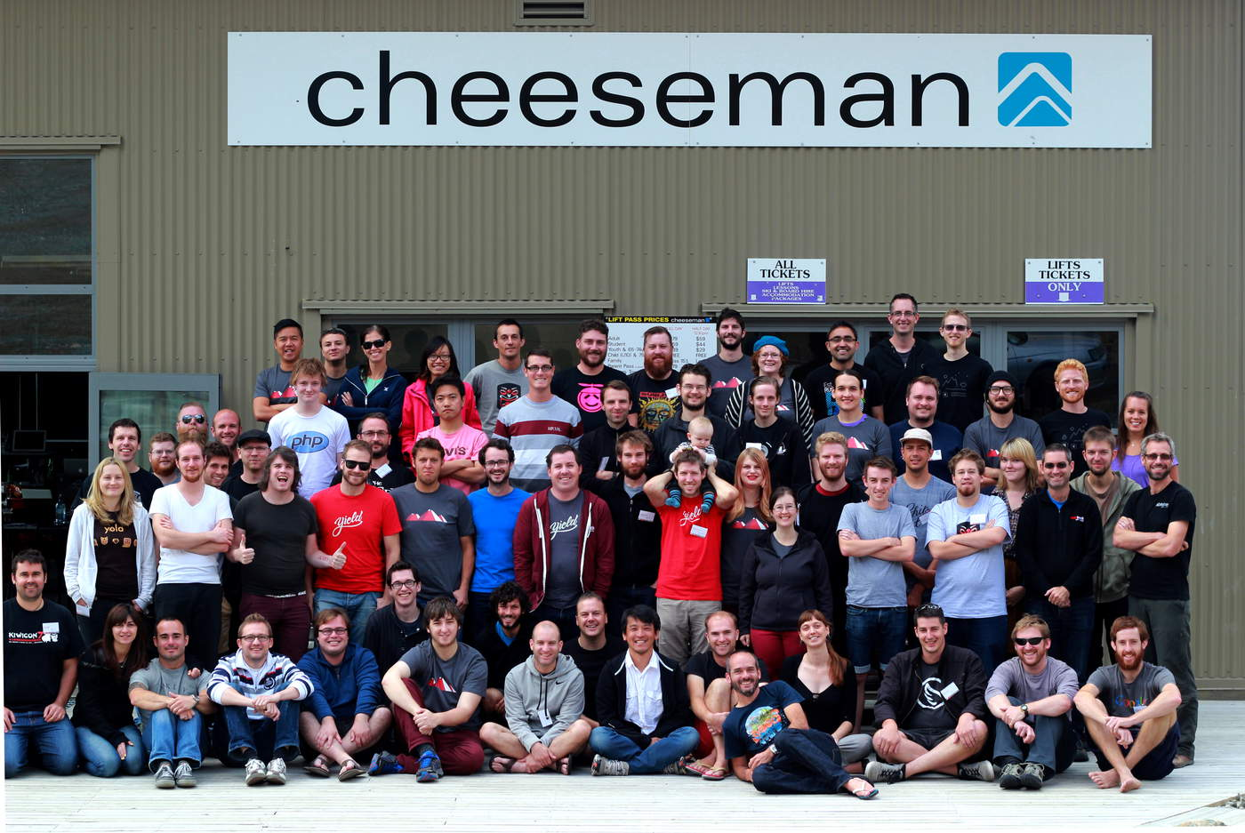 Rails Camp 2014 Cheeseman Group Photo